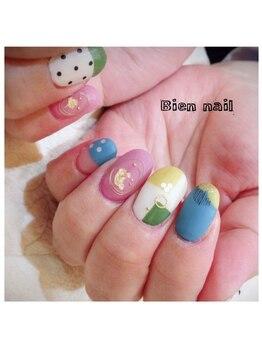 ビエンネイル(Bien nail)/アートなネイル