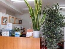 健友館ゆうき整体院/緑の多い癒される空間