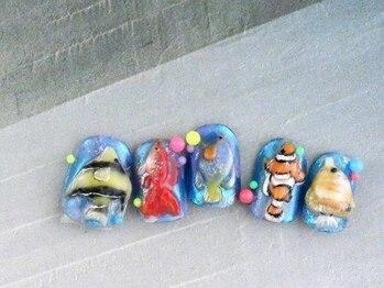 ゆびノさき/水族館