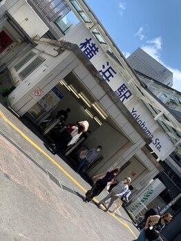 フェアブライト 横浜桜木町店(Fere Bright)/道案内1
