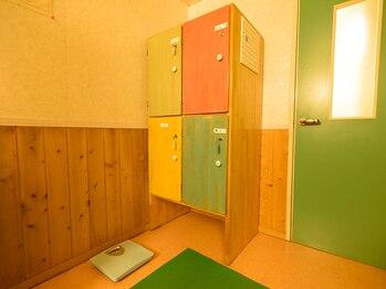 イヤシロチ/清潔なロッカールーム♪
