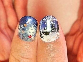 ビューティーサロン ルームフォーユー(Room 4U)/クリスマスの風景