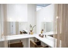 サンクリュクス 栄店(CINQ LUXE)の雰囲気(パウダールーム完備♪施術後にお化粧直しができます。)