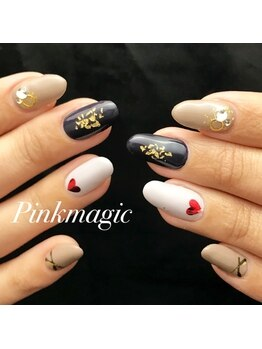 ピンクマジック(PINKMAGIC)/バレンタインネイル