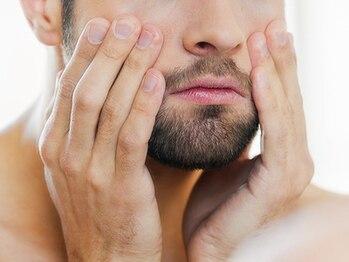 男のエステ ダンディハウス 広島パルコ店の写真/昼すぎなのにもう青ヒゲ?青ヒゲ、カミソリ負けに男の脱毛★朝のヒゲ剃りも楽チンに!濃いムダ毛の悩みも◎