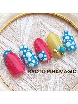 ピンクマジック(PINKMAGIC)/個性的ドット