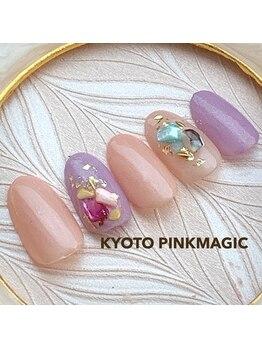 ピンクマジック(PINKMAGIC)/涼☆シェルネイル