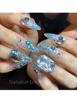 ネイルサロンロータス(Nailsalon Lotus)/ステンドグラス14000円