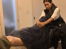 プライベートサロン マーノの雰囲気(足のだるさは足のつけ根を緩ませて、浮腫まない足へ導きます!)