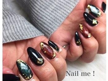 ネイルミー(nail me!)/宝石ネイル