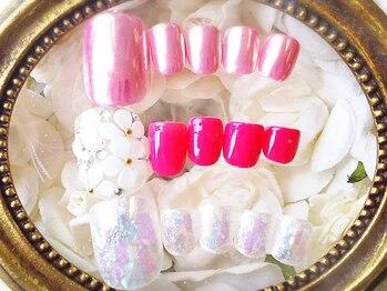 private salon mimi nail 代官山店_デザイン_06
