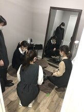 キングスサロン 熊本大学前店/研修