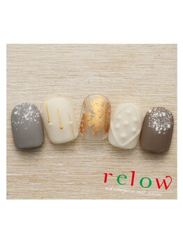 リロウ(relow)/12月のスタッフおすすめネイル!