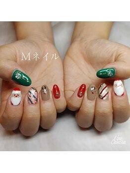 エムネイル(M)/_クリスマスネイル_