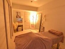 エリマ(elima)の雰囲気(広いお部屋を貸し切り!個室の施術スペースでごゆっくりできます)
