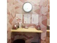 酵素浴 春のさとの雰囲気(脱衣場にはドライヤー・ブラシ・綿棒のご用意があります。)