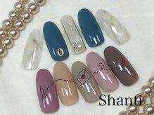 シャンティ ネイルサロン(Shanti nail salon)/オフ込 トレンドデザイン¥5500