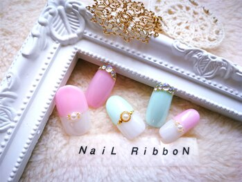Eyelash & NaiL RibboN 池袋店【アイラッシュアンドネイルリボン】_デザイン_10