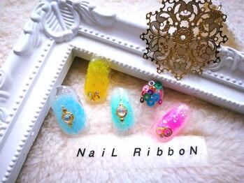 Eyelash & NaiL RibboN 池袋店【アイラッシュアンドネイルリボン】_デザイン_11