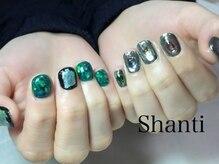 シャンティ ネイルサロン(Shanti nail salon)/個性派ミラーネイル☆