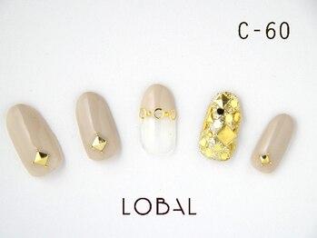 ロバル ネイルアンドまつげ(LOBAL)/ハンドネイルC‐60