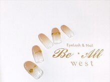 ビオールウエスト(Be All west Eyelash & Nail)/新規OFF込 ¥6600/再来 ¥7600