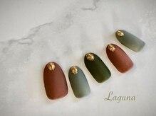 ラグウナ(Laguna)/秋冬カラーのマットネイル