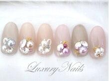 ラグジュアリーネイルズ カワグチ(Luxury Nails Kawaguchi)/パールcollection