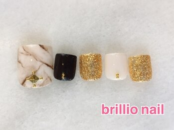 ブリリオ ネイル(brillio nail)/選べるアート/オフ込