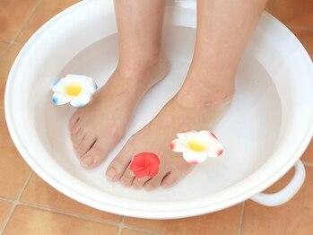 フットケアサロン エ リンダ(E LINDA)/足浴で気持ちも足もリラックス。