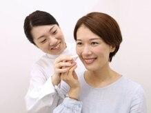 カマタ メイクアップサロン 大阪店/2:ご自身の手を動かして