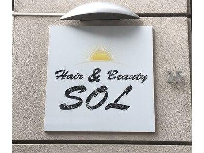 ヘアアンドビューティー ソル(SOL)の写真