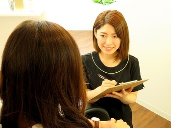 グラマラス 静岡店(GLAMOROUS)の写真/渋谷で開催されたアイラッシュショー出演アイリスト在籍!全方向に対応した究極の美人顔を手に入れる◎