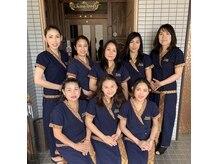 タイ古式リラクゼーション チャントンの雰囲気(タイ人スタッフと日本人スタッフが心をこめて施術を行います♪)