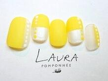 ローラポンポニー(Laura pomponnee)/4月【pattern on pattern】