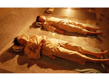 スパアンドホテル舞浜ユーラシア (SPA&HOTEL)/岩盤浴