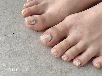 リュエル(RUELLE)/ニュアンスフット 水彩 ぷっくり
