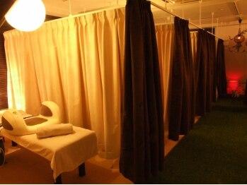 ホットスリムスタジオ 立川店/カーテン個室全7部屋