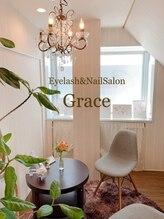 アイラッシュアンドネイルサロン グレイス(Grace)/エントランス 待合スペース