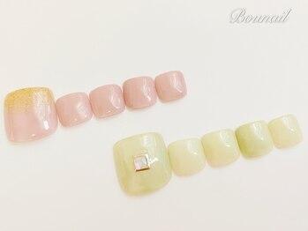 ボネール(nail & eyelash Bounail)/フット定額コース7980円