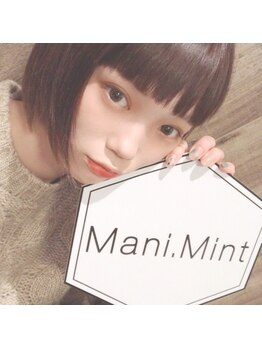 マニミント 表参道店(mani.mint)/村濱遙さんご来店