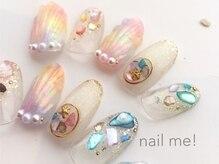 ネイルミー(nail me!)/人魚の鱗ネイル
