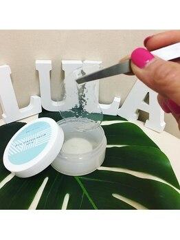 ルラ 池袋店(Lula Relaxatio&BrasilianWax)/施術中に目元にできるアイシート