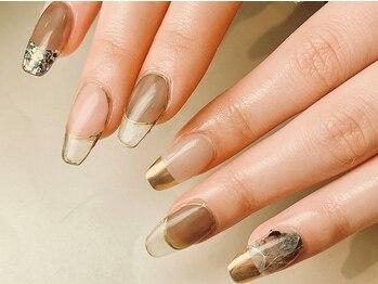 ネイルズ ラニ(Nails Lani)の写真/大人女性の心を掴む、洗練された上品nail☆特別な日のネイルにもオススメ!全員有資格者の高技術店!