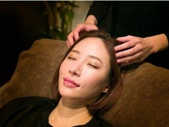 仙豆のちから 岡山店の写真/今話題のドライヘッドスパで頭をスッキリ☆ヘッドマイスターが極上の睡眠&リラックスタイムをご提供。