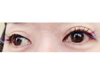 アイラッシュフリカケ(Eyelash furicake)/目尻のポイントカラー