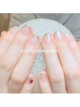 ピンクマジック(PINKMAGIC)/ラメフレンチ