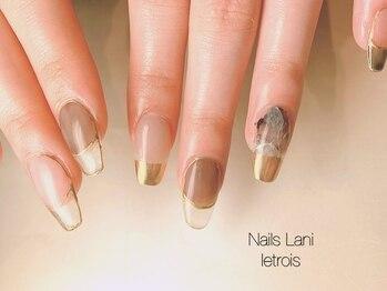 ネイルズ ラニ ル トロワ店(Nails Lani)の写真/モチの良さが自慢の『Nails Laniル・トロワ店』スカルプでの長さ出しやジェルチップエクステンションも!