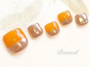 ボネール(nail & eyelash Bounail)/フット定額コース8980円