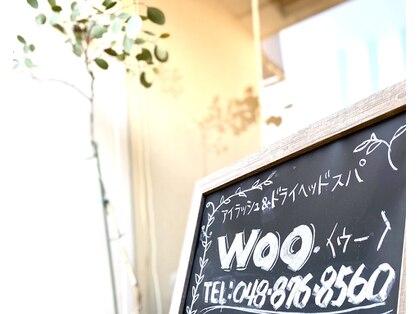 アイラッシュ&ドライヘッドスパ Woo.